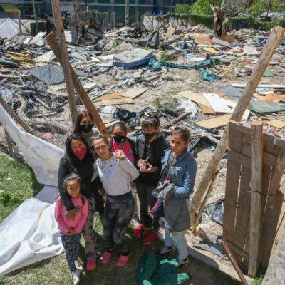 «Exigimos una solución habitacional YA»