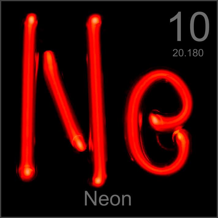 Neon Museum-grade sample
