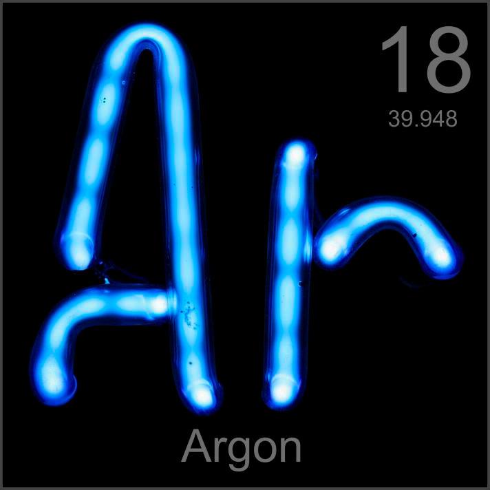 Argon Museum-grade sample