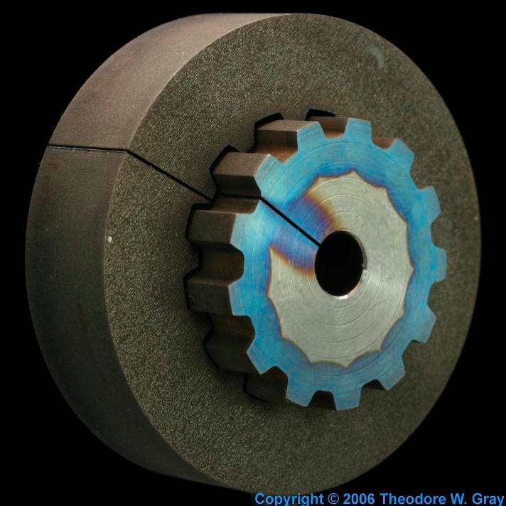 Titanium Wire cut gear