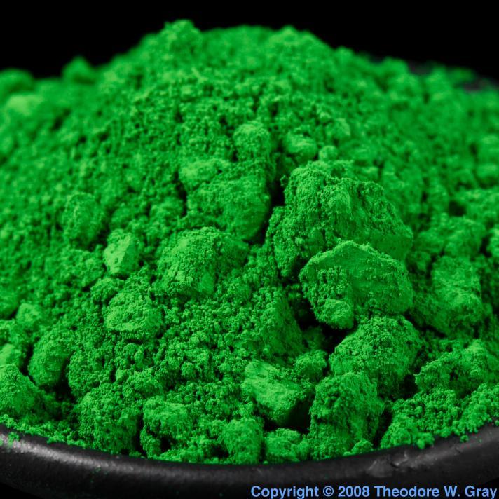 Chromium Chromium oxide green