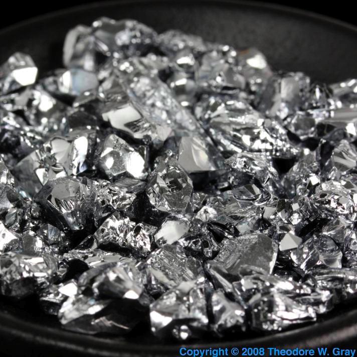 Chromium Chromium broken crystal