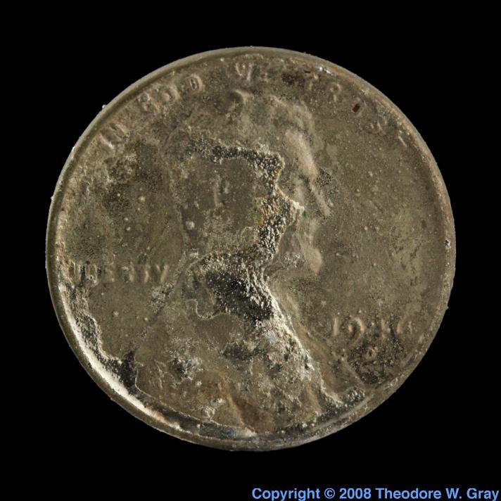 Iron Steel pennies