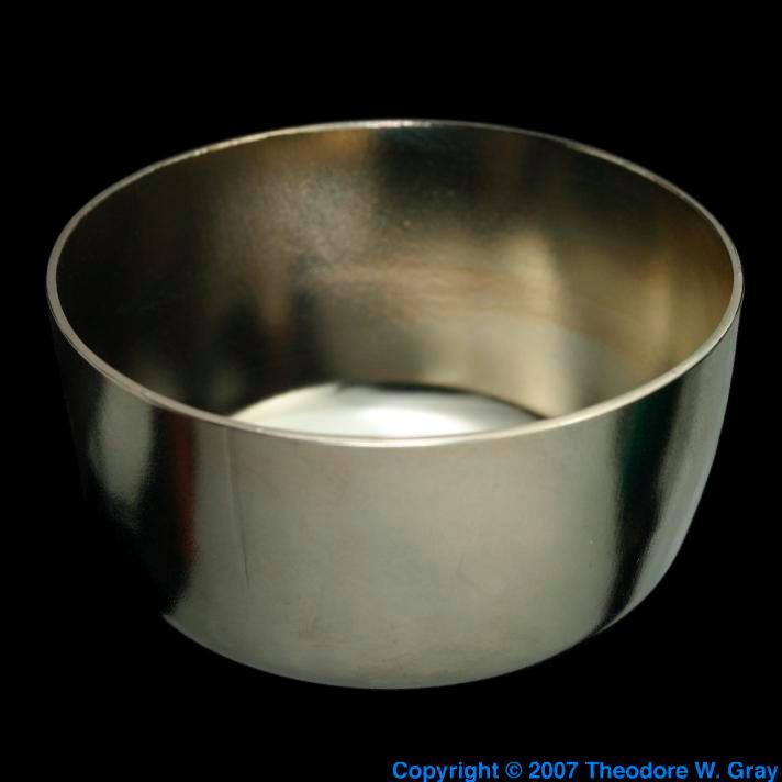 Zirconium 25ml zirconium crucible