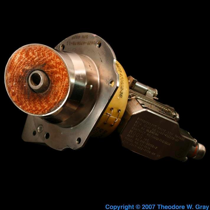 Niobium Missile thruster nozzle