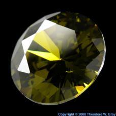 Praseodymium Fake peridot