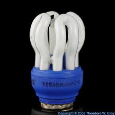 Europium Cute compact fluorescent