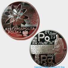 Polonium Polish Coin