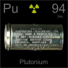 Plutonium Empty nuclear battery