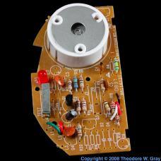 Americium Smoke detector circuit board