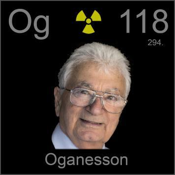 Resultado de imagen para oganesson uranio