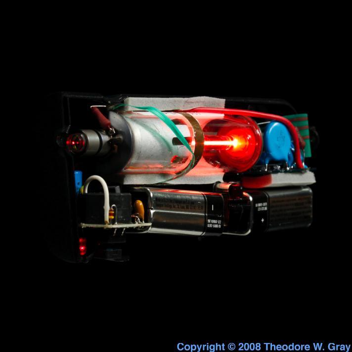 Neon Nelium-neon laser pointer