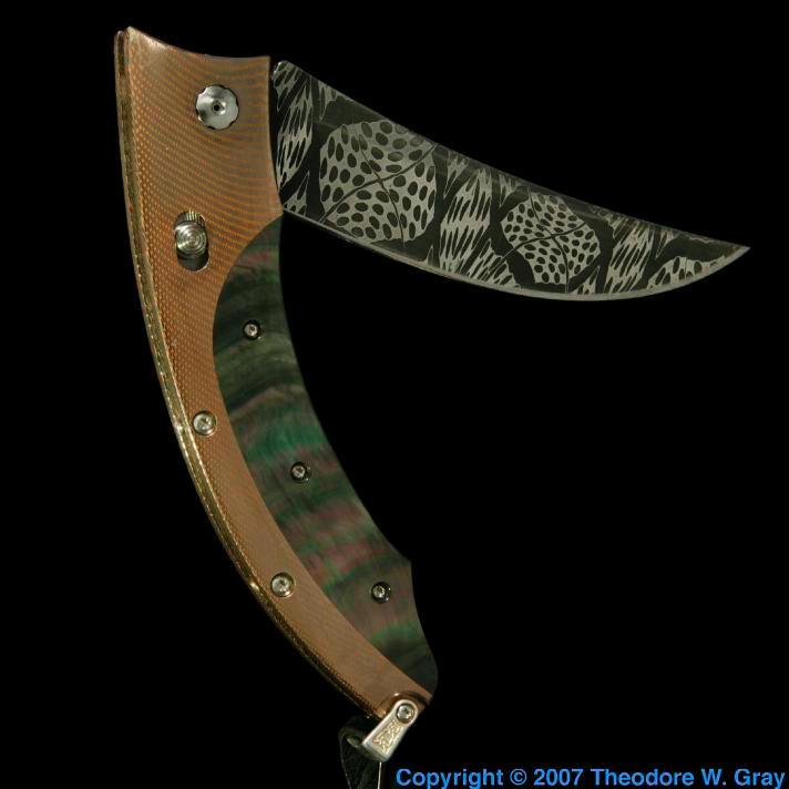 Niobium Insanely expensive knife