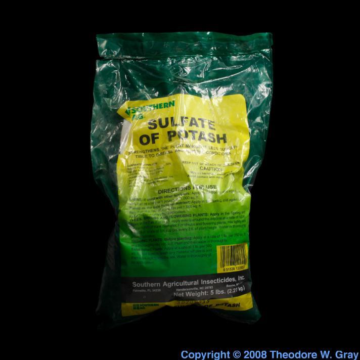 Potassium Sulfate Of Potash