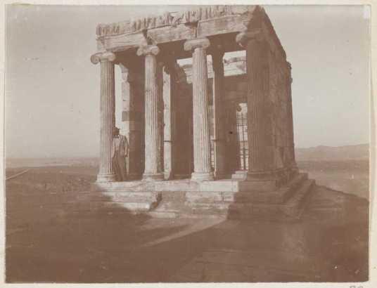 Ο ναός της απτέρου Νίκης