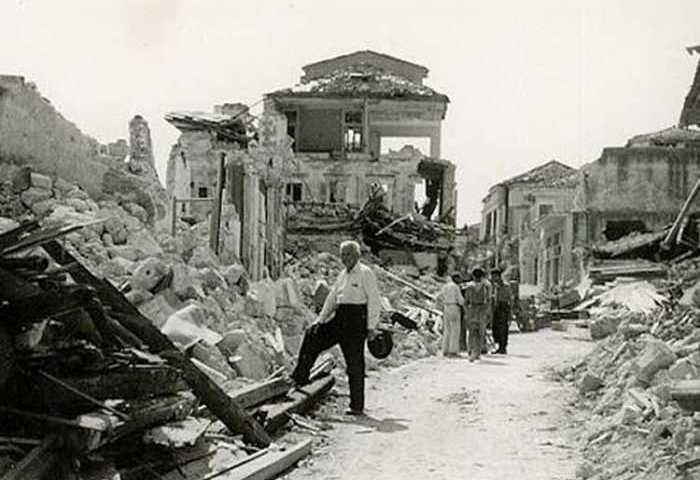 Σαν σήμερα πριν από 64 χρόνια ισχυρός σεισμός χτυπά Κεφαλονιά, Ζάκυνθο, Ιθάκη