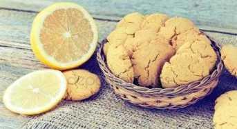 Σπιτικά μπισκότα λεμονιού