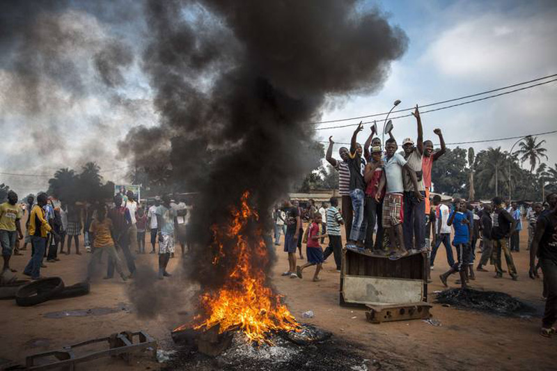 William Daniels, a French photographer working for Panos Pictures on assignment for Time, won the 2nd Prize General News Stories of the World Press Photo Contest 2014