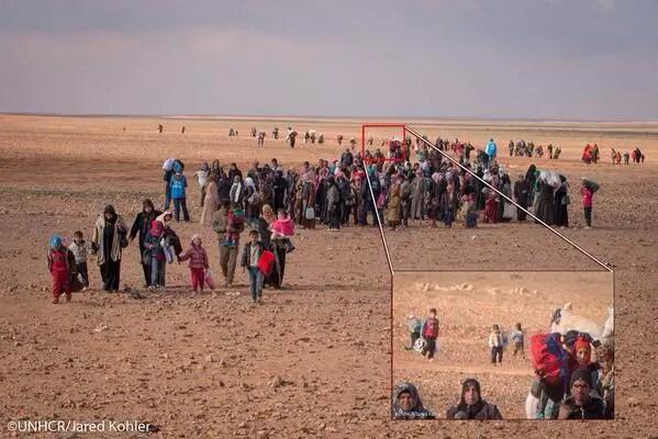 Foto niño en Siria