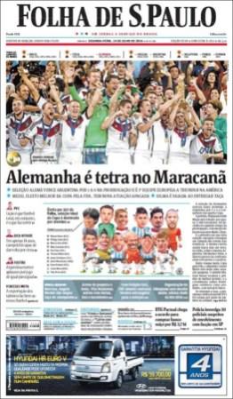 """""""Alemania es tetracampeón en el Maracaná"""""""