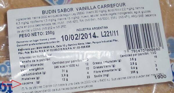 budin carrefour