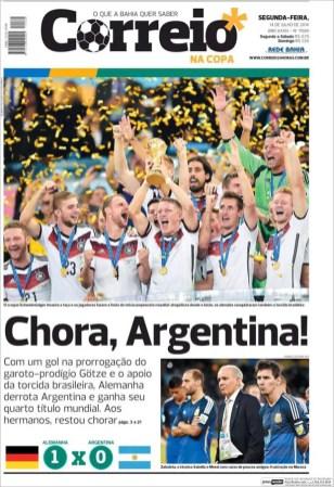 """""""Llora Argentina"""""""