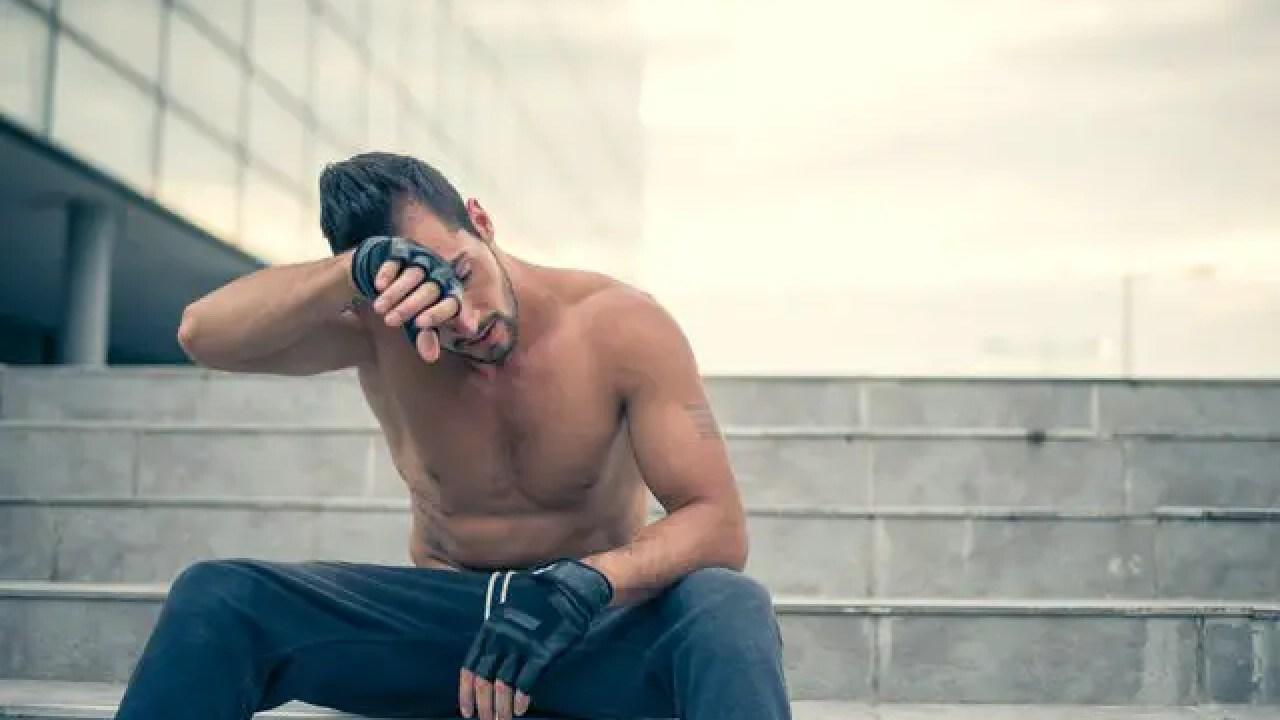 síntomas de diabetes en mujeres sudando haciendo ejercicio