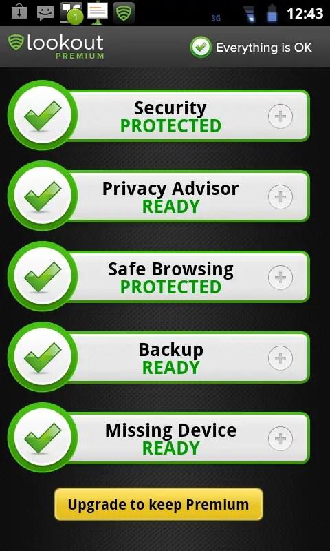 LOOKOUT: También disponible en español, tanto para Android como iOS, Lookout es la app más completa del mercado.