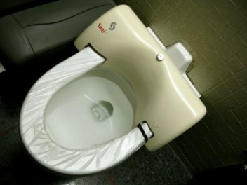 using-toilet-seat-liners