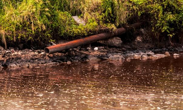 Desde los años 80 del pasado siglo los residuales han sido un gran problema para la Ronera (Foto: Julio Batista)