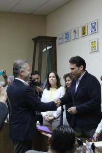 Gastón Luken, candidato independiente a la Alcaldía de Tijuana.