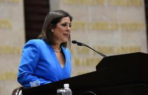 Dip. Fed. Gina Cruz, presidenta de la Comisión de Hacienda de la Cámara Federal de Diputados.