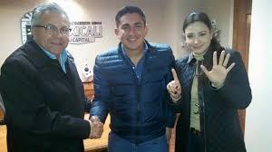 Jaime Díaz, Diego Echeverría y Sonia Carrillo.
