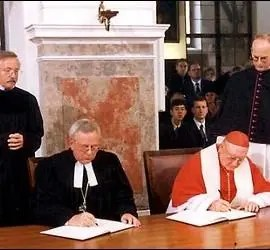 Luteranos y católicos más cerca