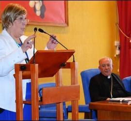 Encarnación González en la semana de Misionología