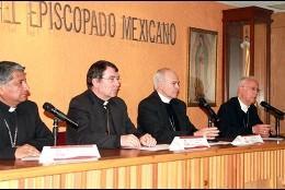 Rueda de prensa del episcopado mexicano