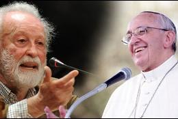 El Papa Francisco y Eugenio Scalfari