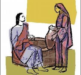 Jesús y la samaritana