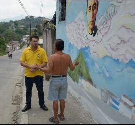 El Padre Toño, en El Salvador