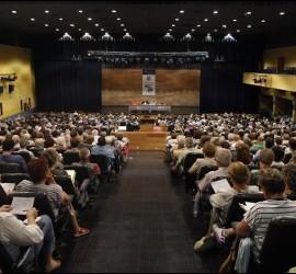 Un momento del pasado congreso de Teología