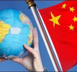 El mundo y China.