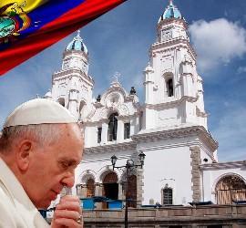 Visita Francisco a Ecuador