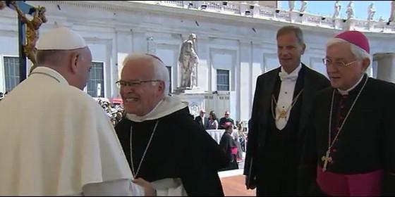 Papa y Raúl Vera