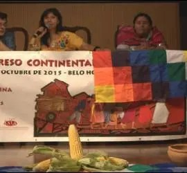 Intervenciones en el congreso de Amerindia