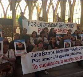 Encierro en la catedral de Osorno