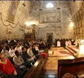 Osoro, en Valencia con sus seminaristas