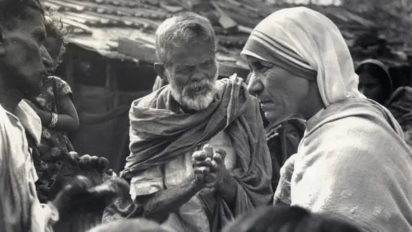 Resultado de imagen de teresa de calcuta y pobres