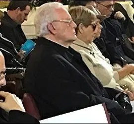 Padre Ángel, cardenal Osoro y cardenal Amigo