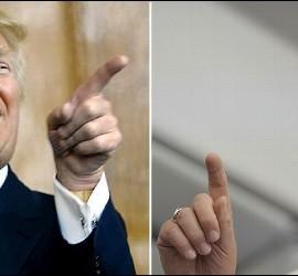 El Papa y Donald Trump