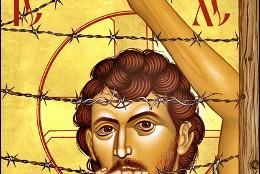 El Jesús crucificado en las vallas
